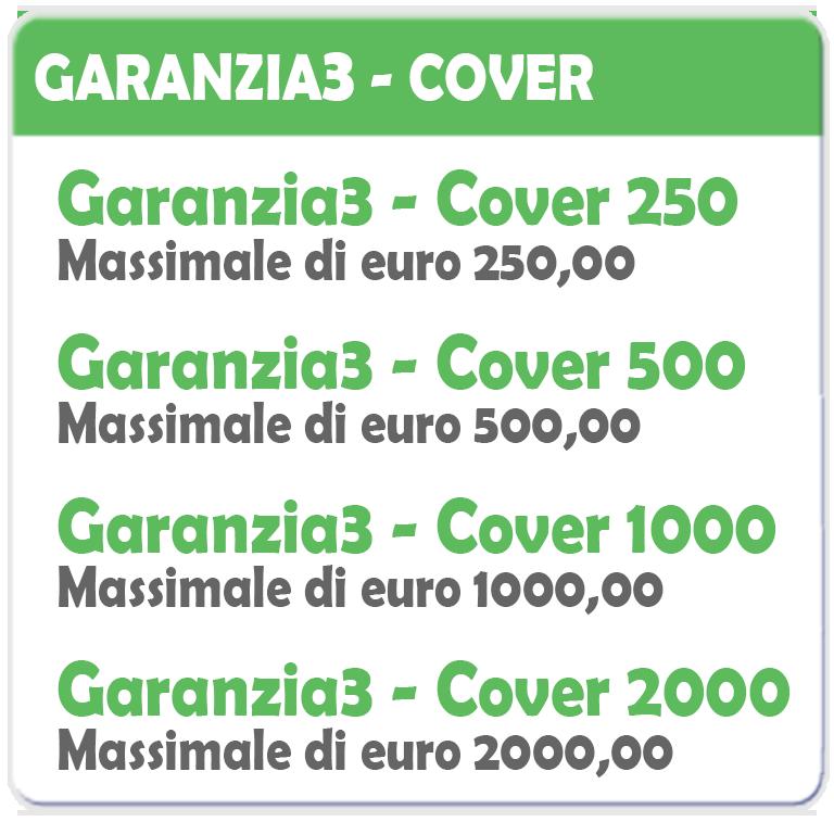 Garanzia 3 Estensione del Servizio Tecnico Fino a 250,00 Euro